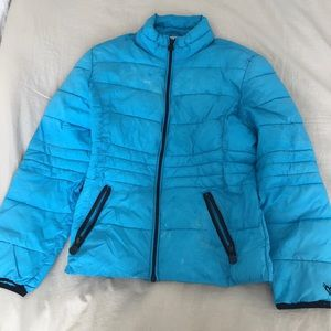 Justice puffer jacket